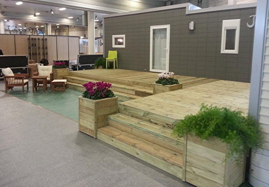 Best terrazze coperte gallery idee arredamento casa for Piani ponte veranda